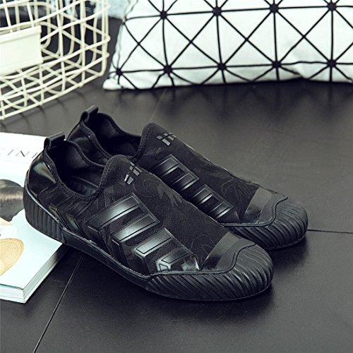 HENGJIA Herren Klassische Loafers Freizeitschuhe Schlupfhalbschuhe Bequeme Fahrerschuhe W1703 Grau