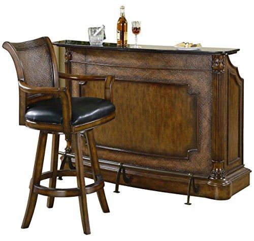 American Home Bar, Holz, braun, 152 x 51 x 107 cm