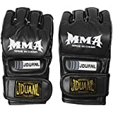 Magideal MMA UFC Grappling Thai Gloves Fight Boxing Punch Bag Training Pads Red