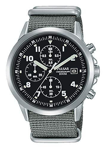 Homme Pulsar Montre chronographe de Style Militaire Pm3129X 1–Formellement et amélioré Pjn305X 1