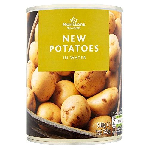 Morrisons New Potatoes, 540g