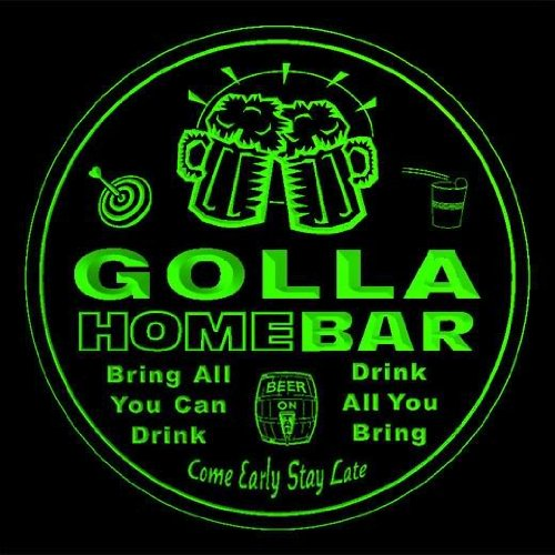 4x-ccq17178-g-golla-family-name-home-bar-pub-beer-club-gift-3d-coasters