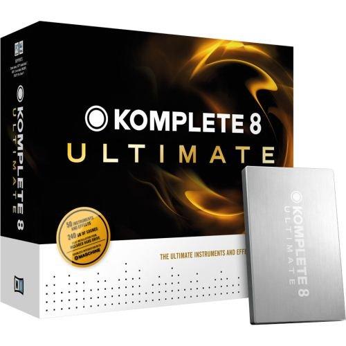 photo NATIVE INSTRUMENTS - komplete 8 ULTIMATE, collection de 50 logiciels