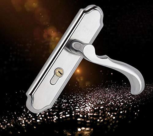 hand2lock Edelstahl Türgriff Hebelschloss Türschloss Türschloss und Schlüssel Set