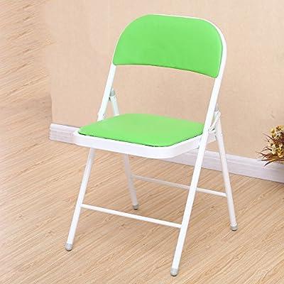 Hocker YANFEI Rücksitz Bürostuhl PU-Kissen Startseite Einfache Esszimmerstuhl Portable von YANFEI - Gartenmöbel von Du und Dein Garten