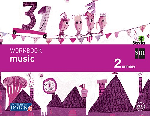 Music. 2 Primary. Savia. Workbook - 9788415743705