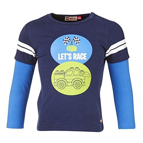 LEGO Wear Jungen Langarmshirt duplo TOD 707, Gr. 104, Blau (MIDNIGHT BLUE 588)