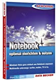 Auf die Schnelle. Notebook - optimal einrichten & nutzen: Windows Vista ganz einfach ans Notebook anpassen