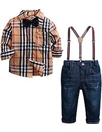 c4b59f28e3019 Amazon.fr   Marron - Costumes et vestons   Bébé garçon 0-24m   Vêtements