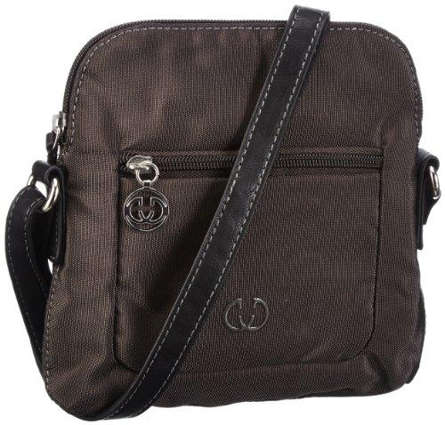 GERRY WEBER Lemon Mix Shoulder Bag XS 4080001189, Damen Umhängetaschen, Braun (dark brown 702), 18x19x2 cm (B x H x T) Braun (dark brown 702)