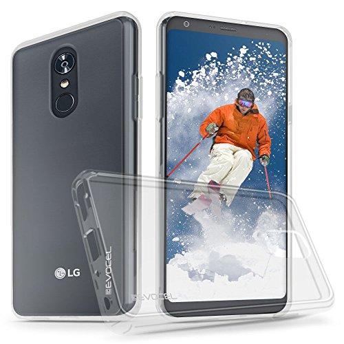 LG Stylo 4Transparent Case Clear Tasche, evocel [Blende Serie] für LG Stylo 4(2018), Farblos - Telefono T-mobile