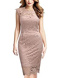 newest collection 01100 30093 Tubino Vestito - Rosa / Donna: Abbigliamento - Amazon.it