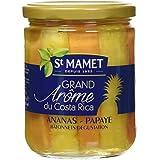 SAINT MAMET Ananas Papayes Bâtonnets Bocal - Lot de 4