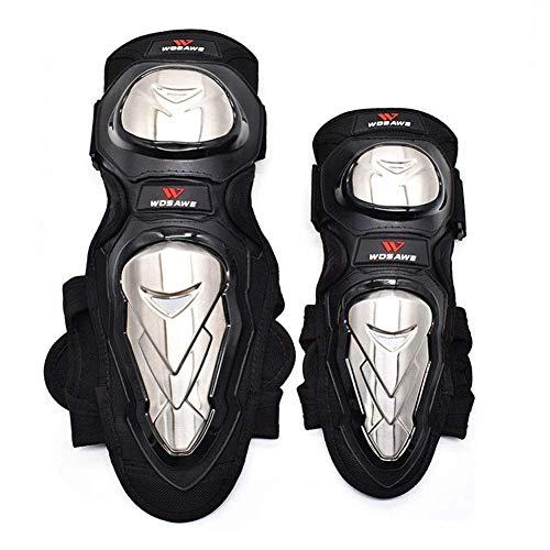 Wzmdd Motorrad Knie Ellenbogen-Pads Motocross Radfahren Elbow Knieschützer Schutz-Schutz-Schutzausrüstung 4Pcs