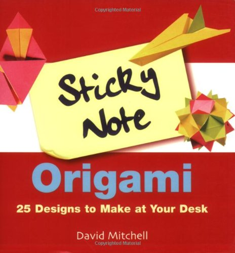 Origami Sticky Notes – Silly Munchkins | 500x464