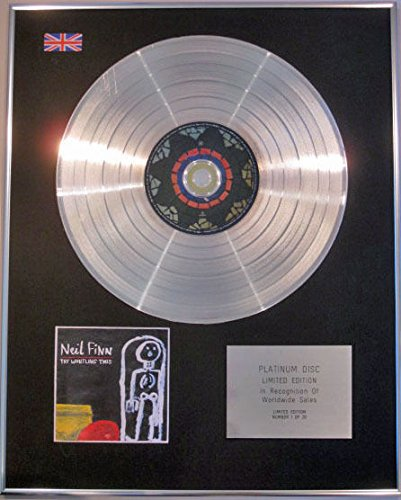 Neil finn- (Crowded House) Ltd Edtn CD Platinum Disc-prova fischio presente