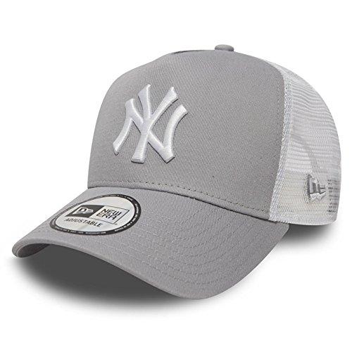 Imagen de new era  béisbol malla cap en el bundle con ud pañuelo new york yankees los angeles dodgers  ny gris / black, osfa one size fits all  alternativa