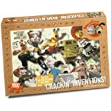 Wallace & Gromit - Crackin Inventions Puzzle (1000 piece Rectangular)