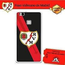 Funda Gel Flexible Rayo Vallecano para Huawei P9 Lite, Carcasa TPU, protege y se adapta a la perfección a tu Smartphone. Licencia oficial Rayo Vallecano - Escudo1