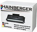 Hainberger Toner für Brother TN-3170 Schwarz, 8.000 Seiten, kompatibel zu TN3170. Geeigent für HL5240 HL5250DN HL5270DN2LT MFC8460N MFC8460DN DCP8060