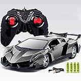 YOUSI Voiture RC pour Lamborghini Radio Télécommande Voiture Jouets en Alliage D'aluminium Véhicule Lumière Cadeau Électronique Cadeau Enfant Jouet 1:16,1