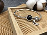 HLMHHL Starry Moon Lover Classic Bracelet Fashion Bracelet Crystal String