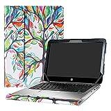 Alapmk Schutz Abdeckung Hülle für 12.5 Zoll HP EliteBook Folio 1020 G1 & 13.3 Zoll HP EliteBook 1030 G1 Series Notebook,Love Tree