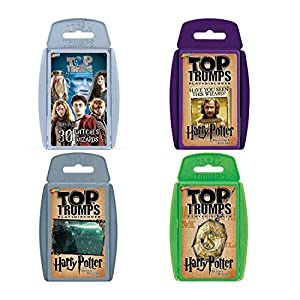 Top Trumps WM00156-EN1-6 Ultimate Harry Potter Juego de Cartas
