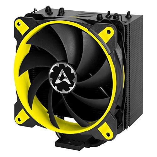 ARCTIC Freezer 33 eSports ONE - Tower CPU Luftkühler mit 120 mm PWM Prozessorlüfter für Intel und AMD Sockel - für CPUs bis 200 Watt TDP - Leiser und Effizienter Cooler (Gelb)