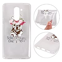 Huawei Honor 6X Soft Gel Case, Huawei Honor 6X Back Cover Case, Rosa Schleife Transparent Crystal Clear Soft Gel TPU Silicone Bumper Phone Case Protective Shell Skin Cases Covers for Huawei Honor 6X