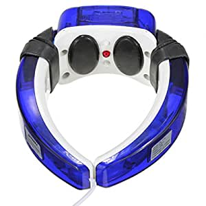 GENERIC Electric Magnetic shiatsu Neck Cervical Collar Therapy Massager Infrared Therapeutic Spine Cure Vibrating Instrument Vertebra