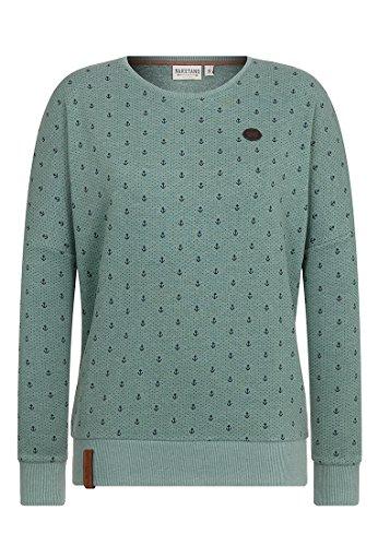 Naketano Female Sweatshirt Jane Forensik Green Melange, S
