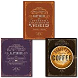 Tristan Stephenson The Curious Collection 3 Books Set, (The Curious Bartender - The artistry and alchemy of creating the perfect cocktail,The Curious Baristas Guide to Coffee and The Curious Bartender: An Odyssey of Malt, Bourbon & Rye Whiskies) by Tristan Stephenson (2015-06-07)