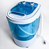 Display4top Portable Mini Washing Machine Spin Cycle W/ Basket,3KG