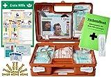Erste-Hilfe-Koffer KITA PLUS -Paket 2- DIN/EN 13157 für Betriebe + DIN/EN 13164 für KFZ - incl. 1.Hilfe-AUSHANG