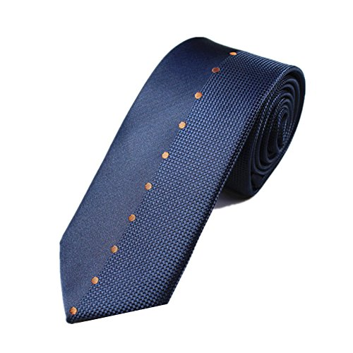 Z-P Mens Blue Elegant Luxury Microfiber Necktie Knit Polyester Skinny Tie Coral Bowtie-jungs