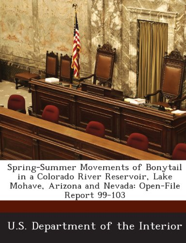 Spring-Summer Movements of Bonytail in a Colorado River Reservoir, Lake Mohave, Arizona and Nevada: Open-File Report 99-103 - Lake-colorado Springs