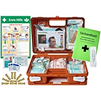 Erste-Hilfe-Koffer KITA PLUS -Paket 2- DIN/EN 13157 für Betriebe + DIN/EN 13164 für KFZ - incl. 1.Hilfe-AUSHANG preisvergleich bei billige-tabletten.eu