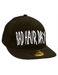 Baseball Mütze Cap Caps WOLF BAD SWAG schwarz Snapback with Adjustable Strap BOSS LA BOY