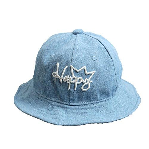 JUNGEN Moda sombrero de sol para el bebé Cowboy sombrero de algodón de  pescador para niños 9fe87fb0355