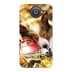 Sleeping Puppy Back Case Cover for HTC One X