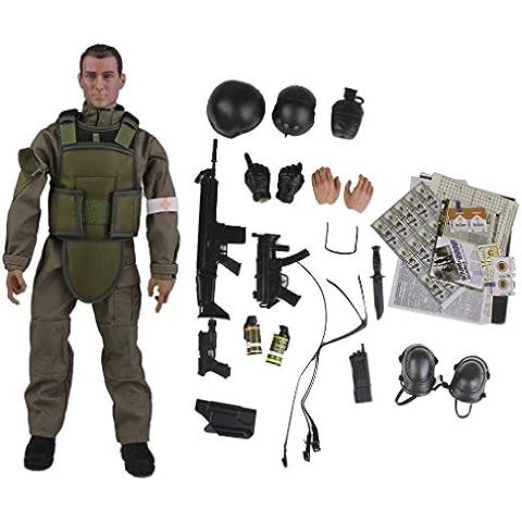1.6 Soldado Medico Figura De Accion De 12 Pulgadas Nb04a