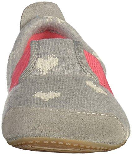 Living Kitzbühel Unisex-Kinder T-Modell Pantoffeln Grau (Hellgrau)