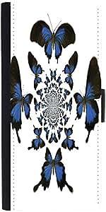 Snoogg Kaleidoscopic Butterfliesdesigner Protective Flip Case Cover For Samsu...