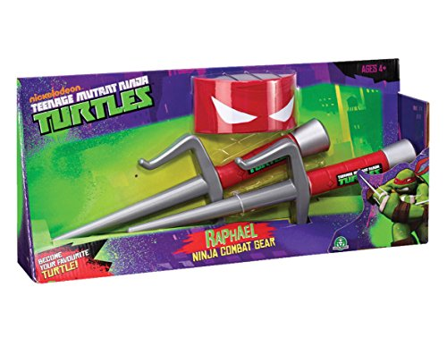 Teenage Mutant Ninja Turtles Verkleidung Ninja Gear - Raphael [UK (Teenage Mutant Turtles Kinder Ninja Kostüm)