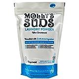 Molly's Suds Original Waschmittel Pulver 120 Ladung, natürliche Waschseife für empfindliche Haut