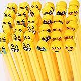 12Stück Stift Neutral schwarz Tintenroller Gel Emoji