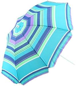 Oxalis HK HKT171811 - Juegos al Aire Libre, Umbrella Poliéster Azul - 180/8