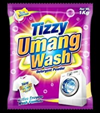 Umang Tizzy Umang Wash Detergent Powder, 1 Kg, 1-Piece - Pack Of 5