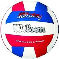 Wilson Super Soft Play - Pelota, color rojo/blanco/azul, talla única